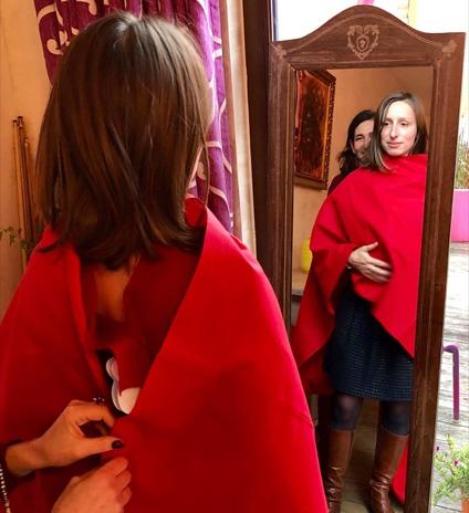 Méta- Métamorphose-couleurs-matières-formes-vêtements-développement personnel-coaching-conseil en image-connaissance de soi-formée par Flora Douville-Pays de la Loire